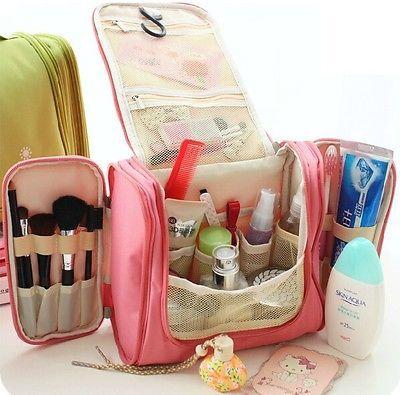 Bolsa de cosméticos Organizador De Bolso de gran capacidad Colgante Travel Kit De Aseo Bolsa De Maquillaje