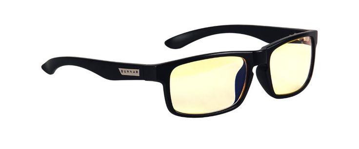 Gunnar Enigma Onyx Amber Indoor Digital Eyewear
