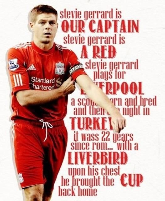 Captain Stevie...YNWA!!! - #Liverpool FC #Quiz - #The Reds