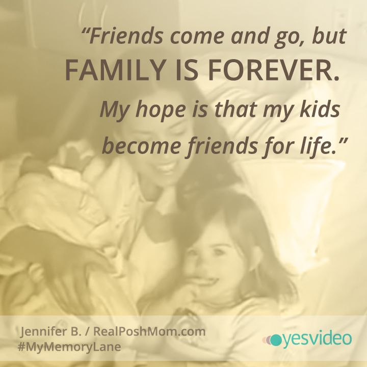 """Family Is Everything Forever: """"Friends Come And Go, But Family Is Forever. My Hope Is"""