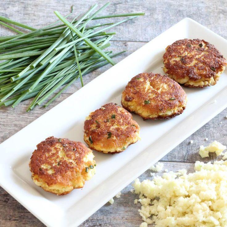 Paleo-Friendly Crispy Cauliflower Cakes recipe on Food52