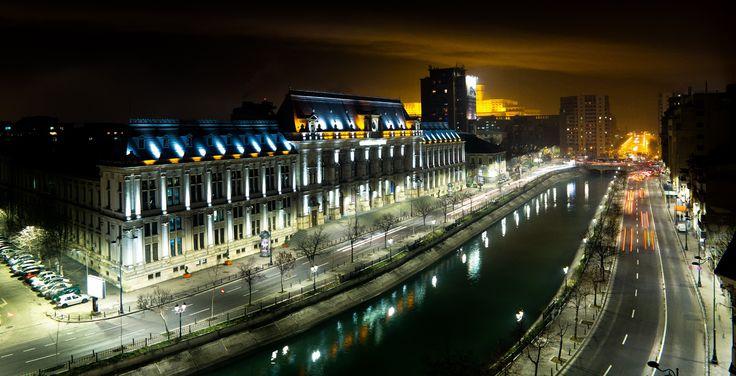 Bucharest by night by Silviu Rotariu