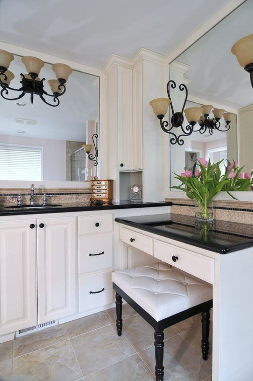 A beautiful bathroom vanity by renewal remodels and for Renew bathroom