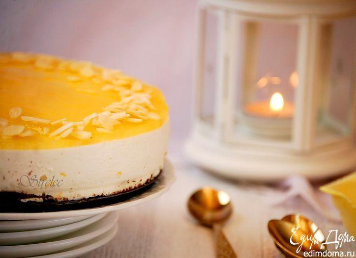 Творожно-апельсиновый торт Творожный десерт в оригинальном исполнении. #едимдома #готовимдома #рецепты #кулинария #торт #десерт #творог #вкусно