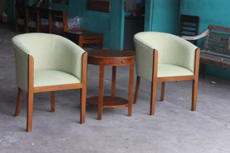 Detail of Tulip Chair Set   Indonesia Contemporary Furniture