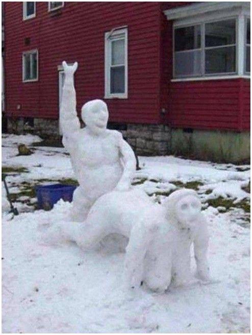 30 Creative and Funny Snowman Ideas
