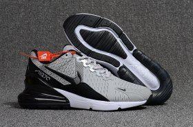 online retailer 6e4d9 c46ac Drop Shipping Nike Air Max Flair 270 KPU Wolf Grey Black White Men s  Running Shoes Sneakers
