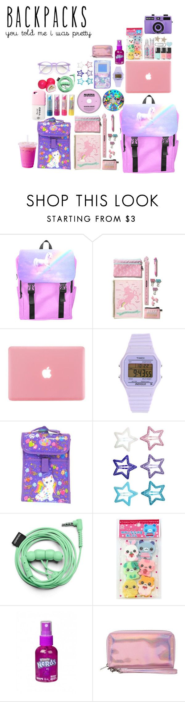 """Exo- Lotto"" by sanhamoonbine ❤ liked on Polyvore featuring Timex, Paul Frank, H&M, Urbanears, Valfré, Cheap Monday, Wildfox, backpacks, contestentry and PVStyleInsiderContest"