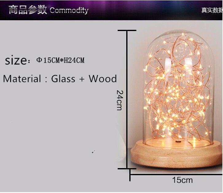 Романтический Mantianxing Украшения LED Небольшая Настольная Лампа Рождество День Рождения Подарок Спальня Лампа Небольшой Ночник купить на AliExpress