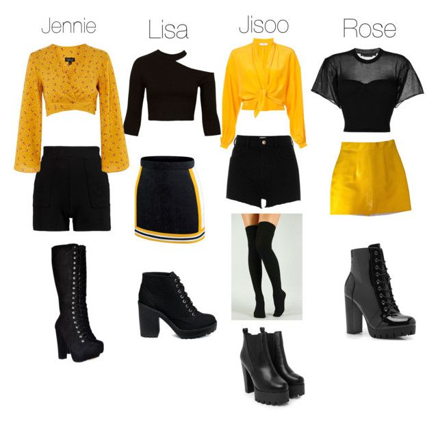 Blackpink Outfit Ideas: BLACKPINK INSPIRED OUTFITS In 2019