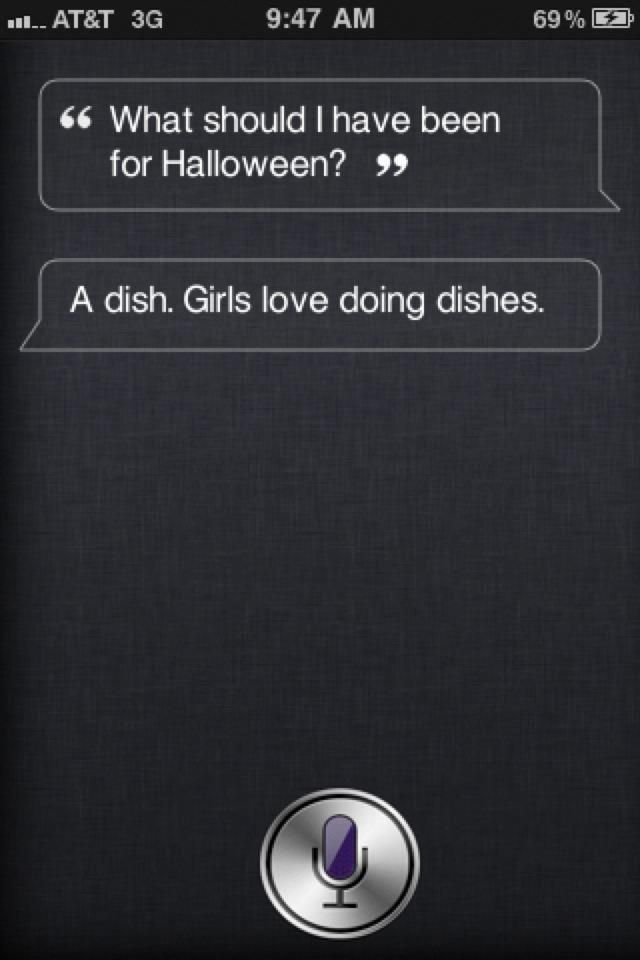 oh Siri....i'm disappointed