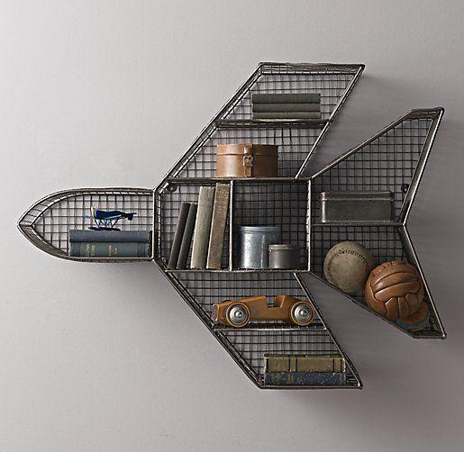 Industrial Wire Cubby Jet Shelf