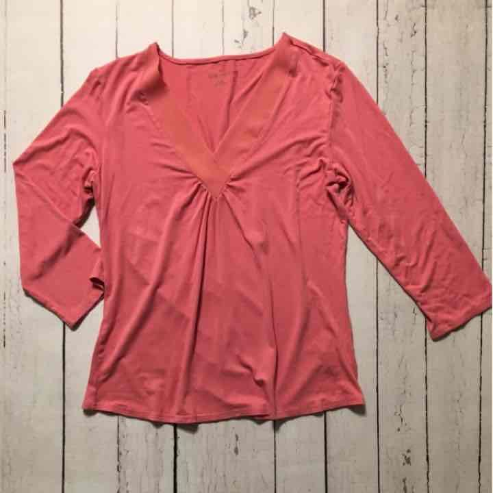 Coral Coldwater Creek Top - Mercari: Anyone can buy & sell