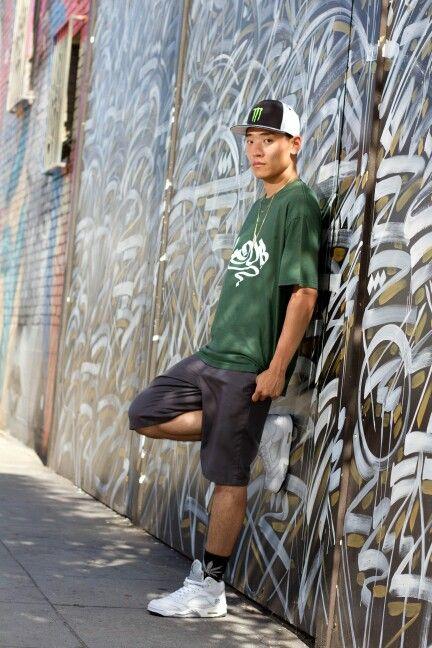 Jul 2015, Los Angeles | Photo by Manny Fernandez | Sway x Monster Energy photo shoot #BboySway #SwayJo #US #LA #Dance #Model #Photography