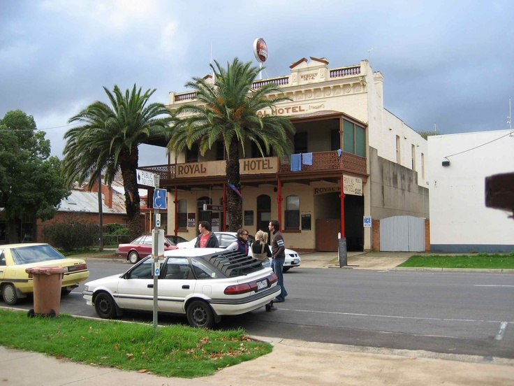 The Royal Hotel, Dunolly, Victoria.