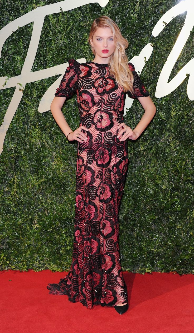 Lily Donaldson in Marc Jacobs is perfection.