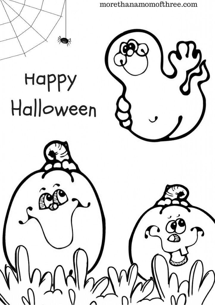 Gemütlich Halloween Farbseiten Galerie - Framing Malvorlagen ...