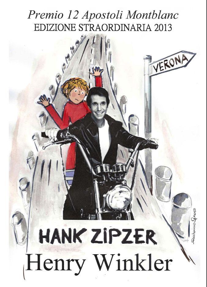 Henry #Winkler-#Fonzie #12 Apostoli Verona