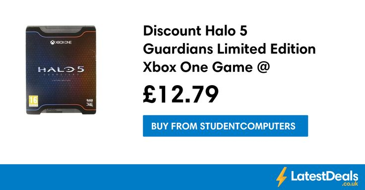 Discount Halo 5 Guardians Limited Edition Xbox One Game @ Student Computers, £12.79 at Studentcomputers