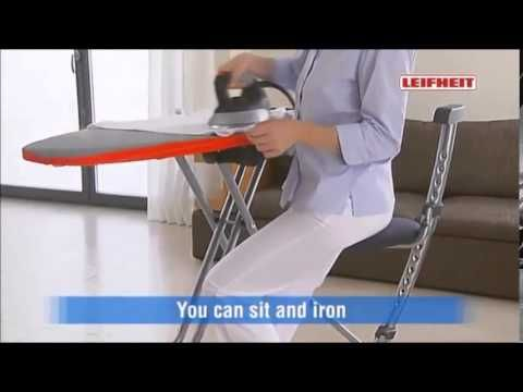 YouTube: [Best Price] Leifheit Air Active L Steam Ironing System With Iron Ironing Board Integrated Steam