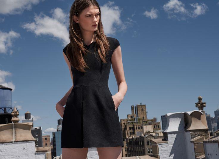 L artiste by amy black dress vince