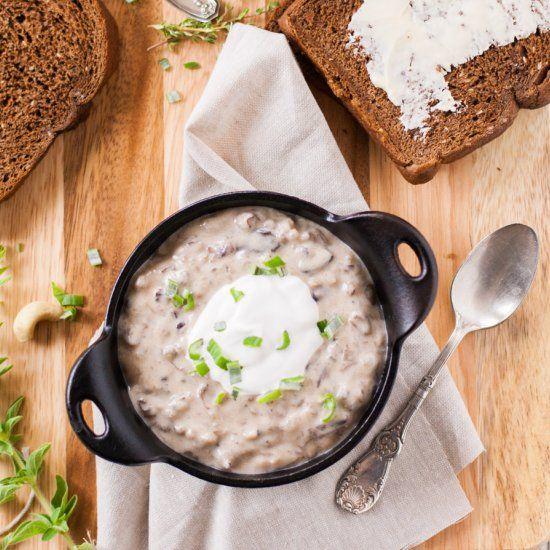 creamy wild rice amp mushroom soup so creamy amp smooth you would ...