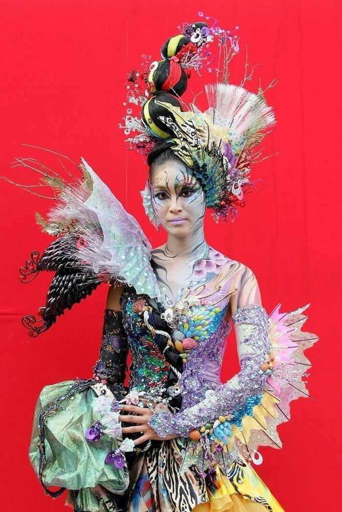 US body painting festival   Bodypainting Festival The World Bodypainting Festival 2009.