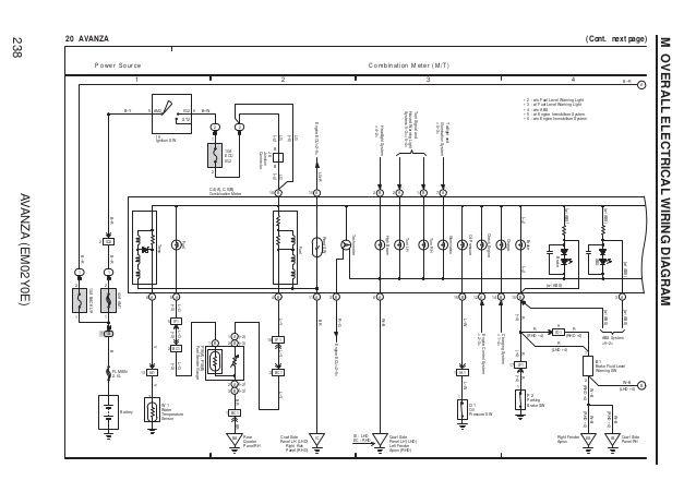 Toyota Avanza Radio Wiring Diagram