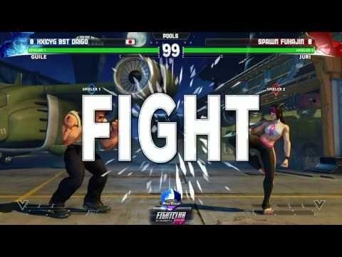 FightClub 2017 SFV Pools