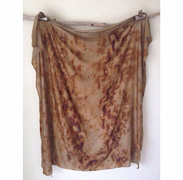 Rust and silk.