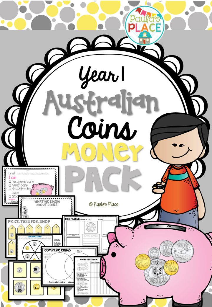 When exploring Australian Money< and what our coins are, this pack will help to structure learning for understanding. 38 pages for $3.50! http://designedbyteachers.com.au/marketplace/australian-money-coins-2/