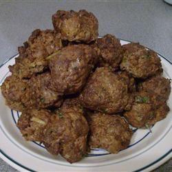 Spicy Turkish Lamb Rissoles @ http://allrecipes.com.au