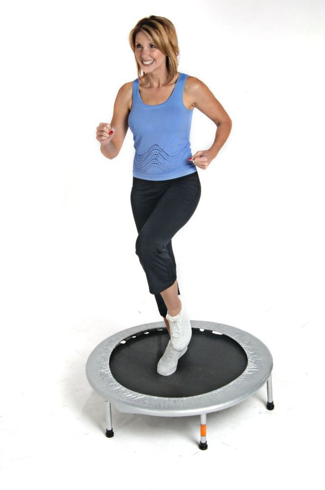 Folding Trampoline Exercise Play Jump Bounce Balance Fitness ...