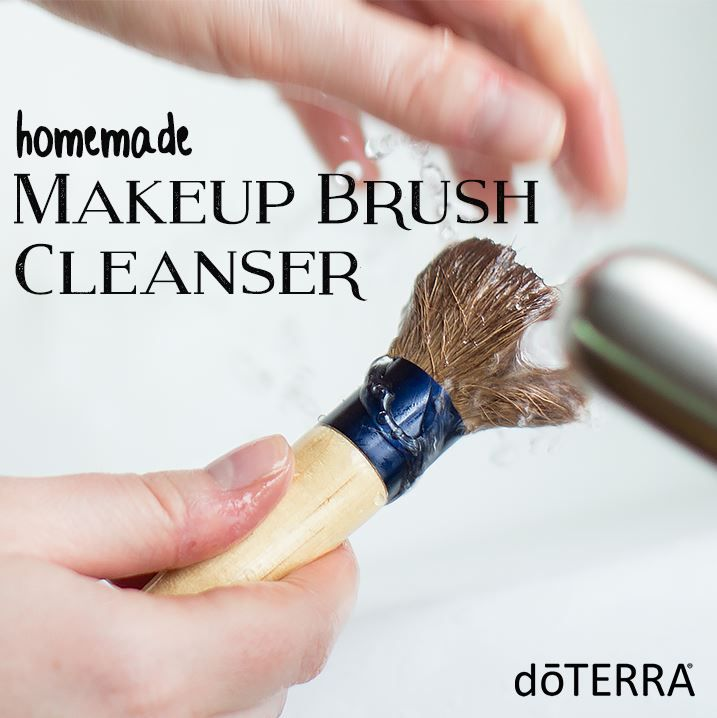 Are your makeup brushes in need of some deep cleaning? This makeup brush cleanser is super easy and only takes three simple ingredients!