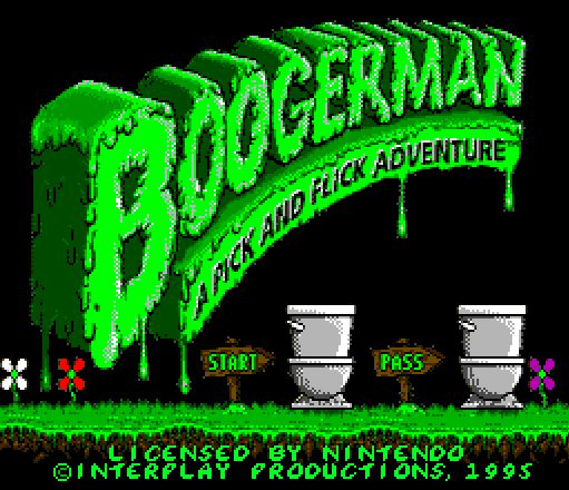 In honor to Boogerman for Mega Drive my Frech Buldog mane is Booger
