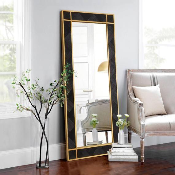 Wood Mirror Black Mamba Viiwall Mirror Rectangular Mirror Etsy In 2020 Mirror Wall Living Room Living Room Mirrors Gold Living Room Decor #rectangle #mirrors #for #living #room