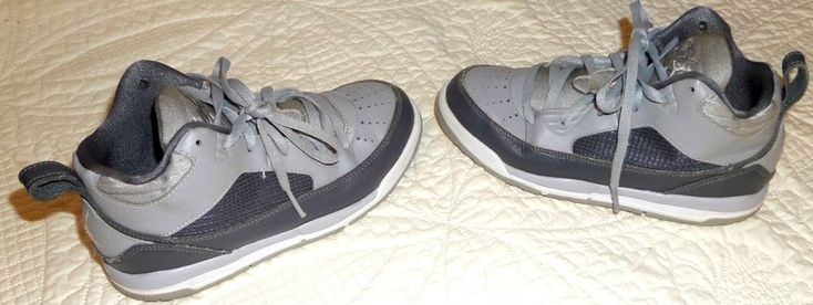 Nike Air Jordan Flight 9.5  654976-006 Size 2Y Youth Wolf Gray\ White  #Nike #Athletic