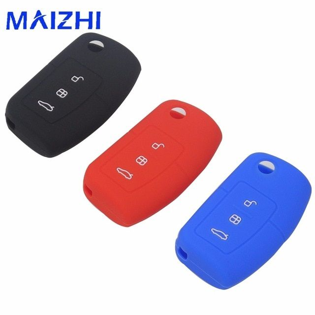 Jingyuqin Car Silicone Remote Key Fob Cover For Ford Focus Fiesta C Max Ka 3 Buttons No Logo Review With Images Ford Focus Modified Cars Car Key Fob