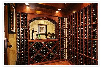Pre-designed in a Semi-custom Wine Rack