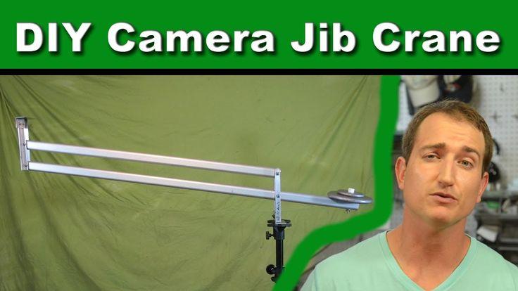How to build a camera crane jib for DSLR cameras.  #diy #filmmaking @indiefilmacdmy