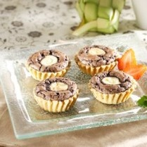 MINI PIE BROWNIES http://www.sajiansedap.com/mobile/detail/15519/mini-pie-brownies