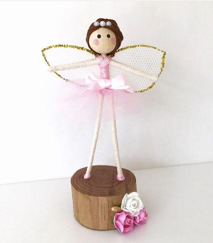 Fairy, Fairy Doll, Girls Room Decor, Kids Decor, Ballerina Handmade Decor