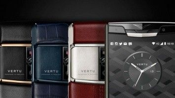 Vertu has presented the limited collection of precious smartphones