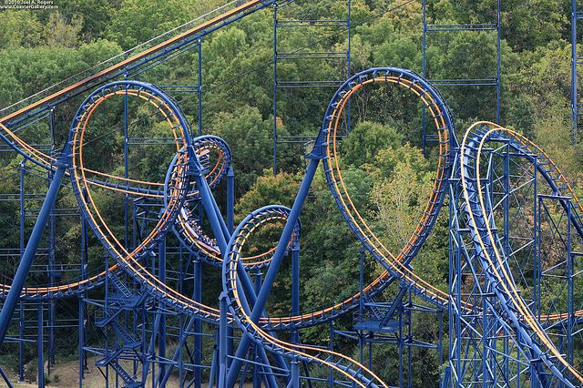Vortex King's Island, Cincinnati, Ohio Great ride I enjoyed riding