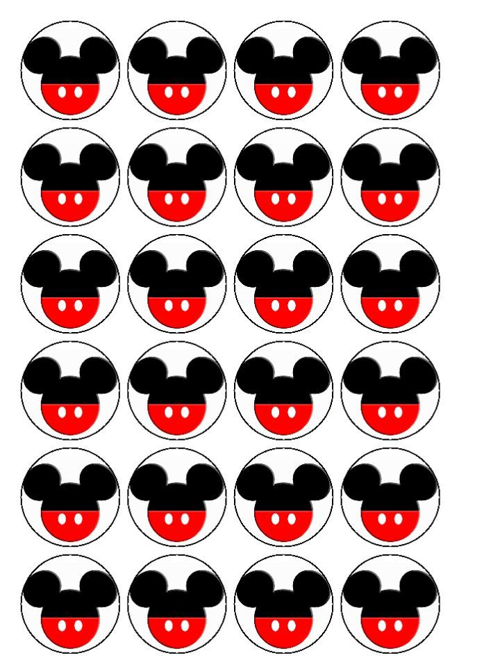 Mickey Mouse Cupcakes | Cook Bake Decorate is the new name of Polkadot-Parties