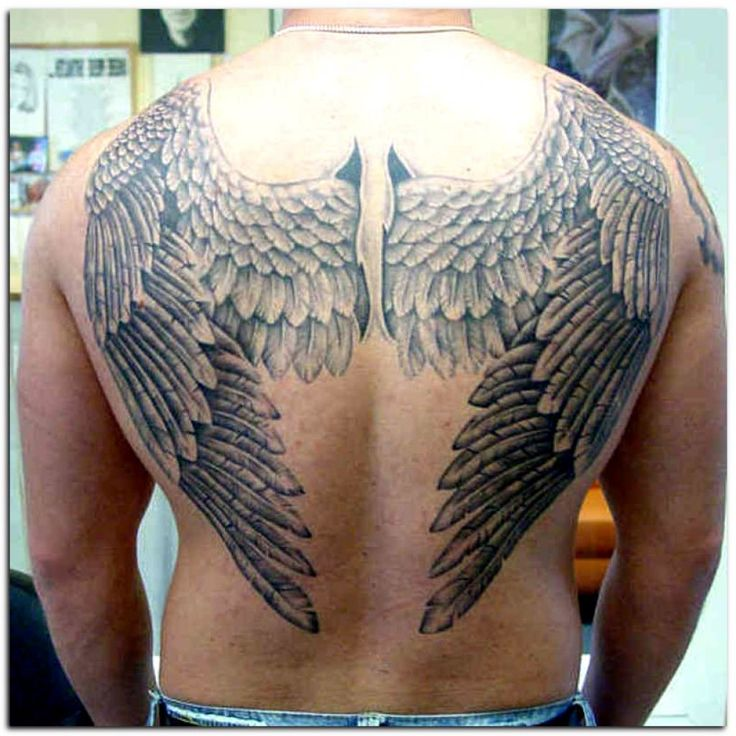 1000+ Ideas About Wing Tattoo Men On Pinterest