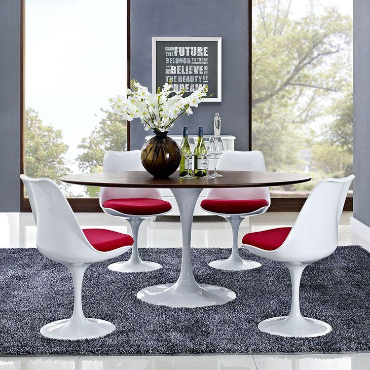 A65b735b0e83a8f548e445086a262ada Walnut Dining Table Oval Tables