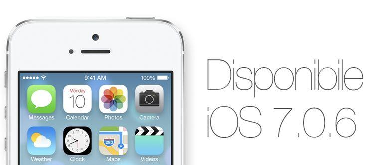 Apple rilascia a sorpresa iOS 7.0.6