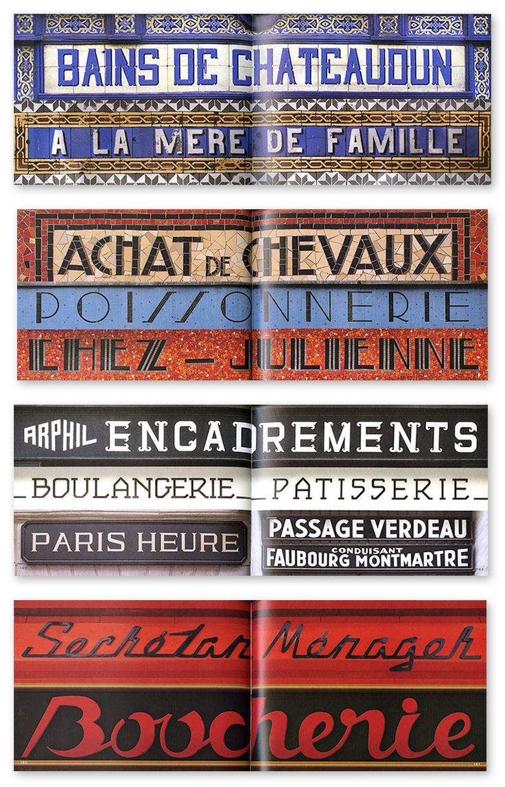 Louise Fili's Typographic Love Letter to Paris | @Issue Journal of Business & Design