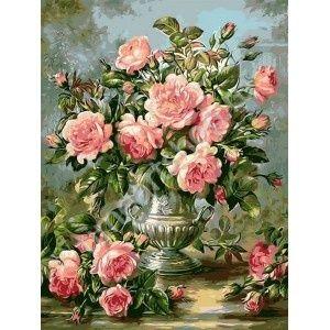 Прекрасные розы Albert Williams, картины раскраски по номерам, своими руками, размер 40*50см, цена 750 руб.
